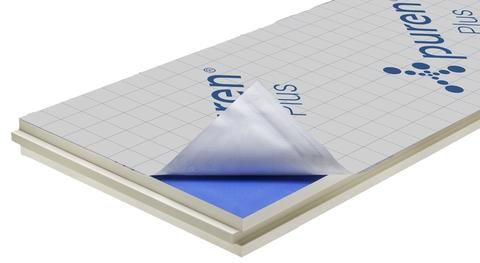 puren Dämmplatte Plus 120 mm breit Nut/Feder 2400x1020 mm kaschiert WLS 026