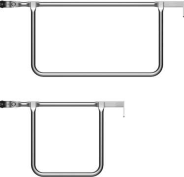 Layher Doppelstirngeländer 19 Schlüsselweite 0,73 m