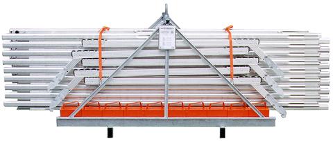 Grün Alufix Transportkoffer 25 m voll Nr.51600000