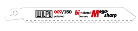 Makita Reciproblatt BIM 225 mm 10 Zähne P-46975 3 Stück für Holz 3-175 mm