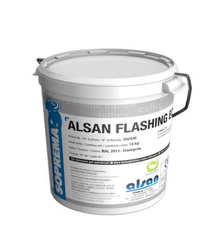 SOPREMA Alsan Flashing Eco 6,0 kg 1-K PU-Harz RAL 7011 Eisengrau