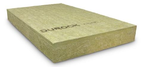Rockwool Mineralwoll Dämmplatte Durock-GF 160 mm 2000x1200 mm WLS 037
