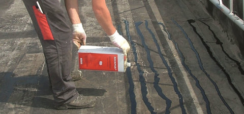 Rockwool Mineralwoll Dämmstoffkleber Rockpur 6,5 kg