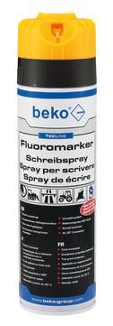 BEK TEC-LINE Schreibspray 500mlLORA Fluoromarker,leuchtorange