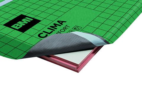 Braas Clima Comfort Platte 80 mm Einbaumaß 2385x1185 mm