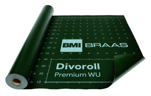 Braas Divoroll Premium WU 30x1,5 m UDB-A, USB-A diffusionsoffen/wasserdicht