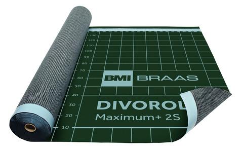 Braas Divoroll Maximum Plus 2S 50x1,5m UDB-A, USB-A mit Doppel-Klebezone