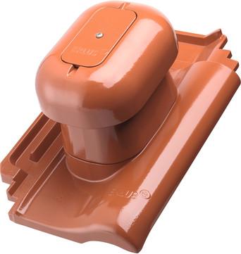Erlus E58/E58S System Sanitärlüfter komplett Alu für engobiert beschichtet neu Anthrazit