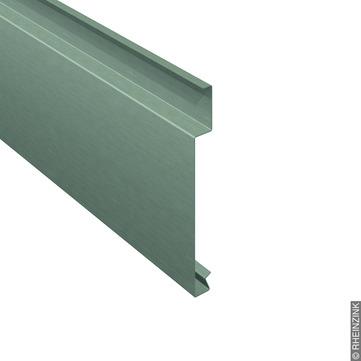 RHEINZINK H-Horizontalpaneel 25-400 mm 351x1,0, mm foliert Titanzink prePATINA schiefergrau