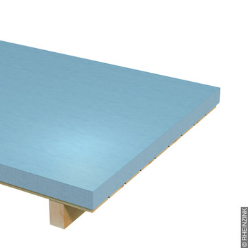 RHEINZINK Tafel 0,70mm 1000x2000mm 10,08kg je Tafel 1000kg je Palette Prepatina blaugrau