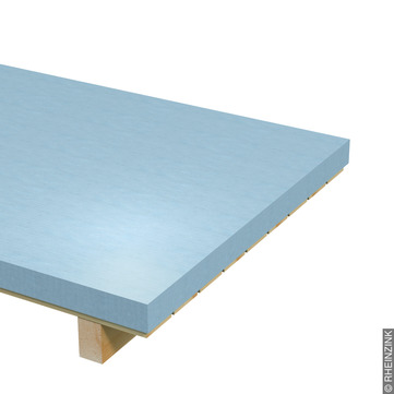 RHEINZINK Tafel 0,70mm 1000x2000 10,08kg je Tafel Classic walzblank