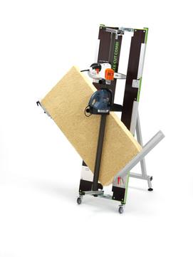 STEICO Schneidetisch isocut 125 mit Bosch Schwertsäge