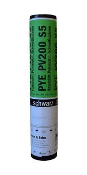 Hasse&Sohn Hassodritt PYE-PV200S5 EN 1x5m Schwarz