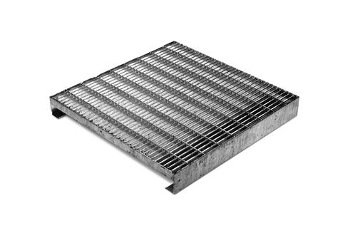ZinCo Terrassenrost TR-F 40x40 cm Fixhöhe 5 cm