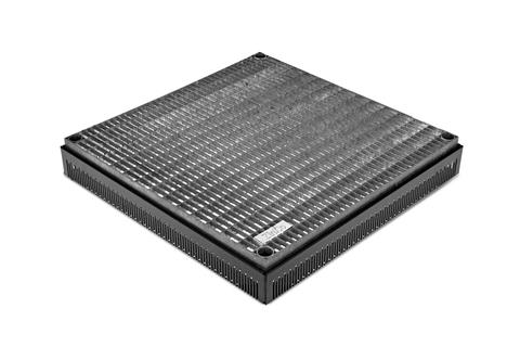 ZinCo Terrassenrost TR-H 50x50 höhenverstellbar 65-95mm