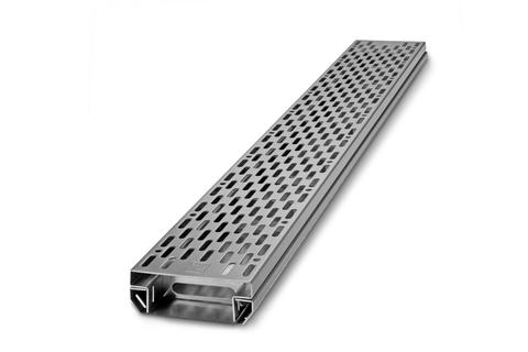 ZinCo Fassadenrinne FTR 55/ 75 A 1m 5,5- 7,5x14,5cm