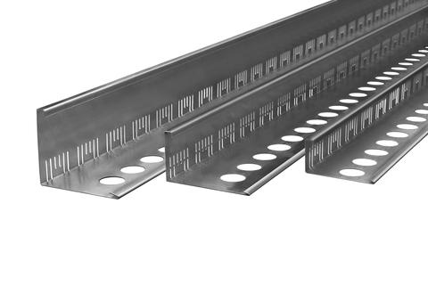 ZinCo Dachtraufprofil DP55E 3,0m Edelstahl 1.4301