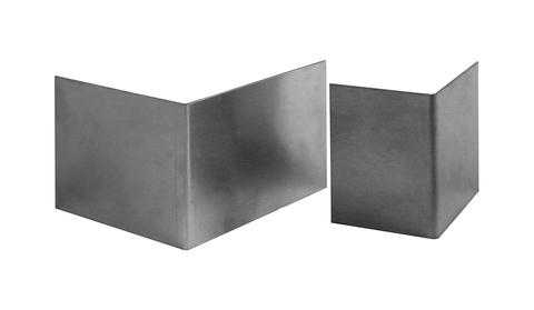 ZinCo Stoßverbinder Folie KL 100/120 mm Breite 10 cm Alu