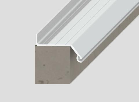 LAMILUX Sanierungsadapter Fit 11 cm 120/120 cm Profilrahmen inkl. Befestigung PVC