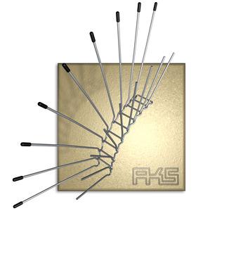 AKS Marderabwehrgürtel 68cm für verzinkte und Edelstahl-Fallrohre Verzinkt