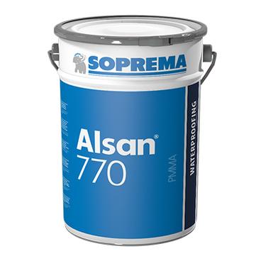 SOPREMA ALSAN 770 2K 10,0kg mit anteilig 2 Pakete Katalysator RAL7035 Lichtgrau