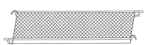euroline Plattform für Faltgerüst 1,80 m