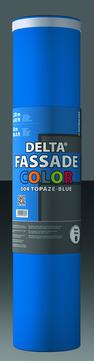 Dörken DELTA-Fassade Color 1,50x30m 32 Rollen je Palette Topasblau