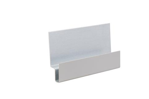 Etex Cedral Click Sturzprofil C05 4042302 Alu 24x8x8x13x41x3000mm Grau
