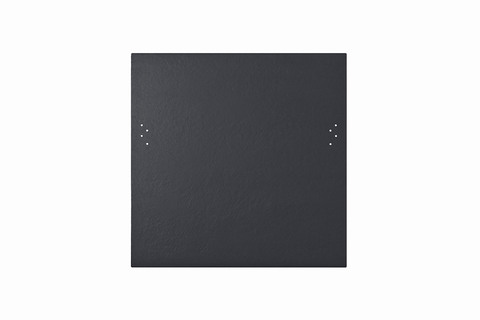 Eternit Dachplatte 40x40cm Doppeldeckung 5-12 Großpaket glatt NC Quadrat vollkantig gelocht Blauschwarz