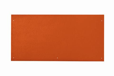 Eternit Dachplatte 60x30cm vertieft Quaderdeckung glatt NC 5 Loch Klassikrot