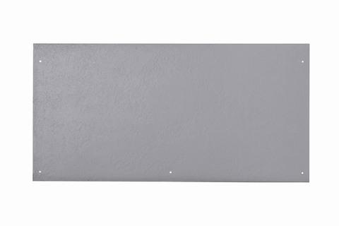 Eternit Dachplatte 60x30cm vertieft Quaderdeckung glatt NC 5 Loch Lichtgrau