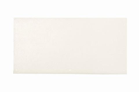 Eternit Dachplatte 60x30cm vertieft Quaderdeckung glatt NC 5 Loch Kristallweiß