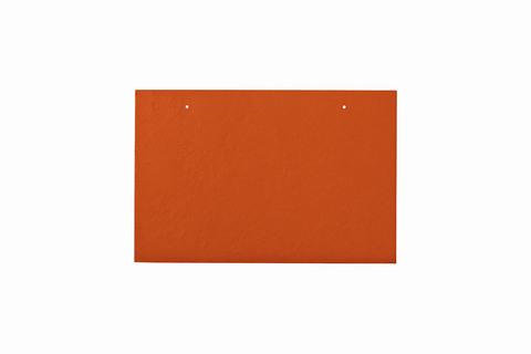 Eternit Dachplatte 30x20cm waagerecht 4/5 Großpaket glatt NC Rechteckig für Links-/Rechtsdeckung 2 Loch Klassikrot