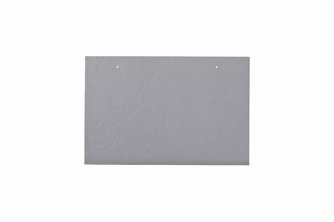 Eternit Dachplatte 30x20cm waagerecht 4/5 Großpaket glatt NC Rechteckig für Links-/Rechtsdeckung 2 Loch Lichtgrau