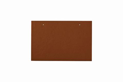 Eternit Dachplatte 30x20cm waagerecht 4/5 Großpaket glatt NC Rechteckig für Links-/Rechtsdeckung 2 Loch Ziegelrot
