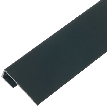 Eternit Systemdach Aufsteckprofil 2 4046455 10 Stück Equitone Schwarz