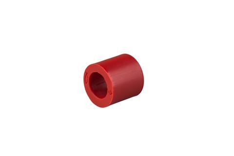 Etex Uni-Niet Festpunkthülse 8mm 100 Stück im Karton Kopf Rot