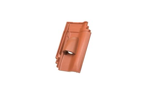 Walther W4v Solardurchlassziegel kupferbraun engobiert