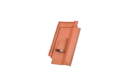 Walther W6v Solardurchlassziegel rotbraun engobiert