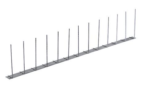 PPS Birdy-Spitzen Premium 1-fach komplett aus Stahl Edelstahl V2A
