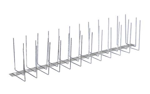 PPS Birdy-Spitzen Premium 3-fach komplett aus Stahl Edelstahl V2A