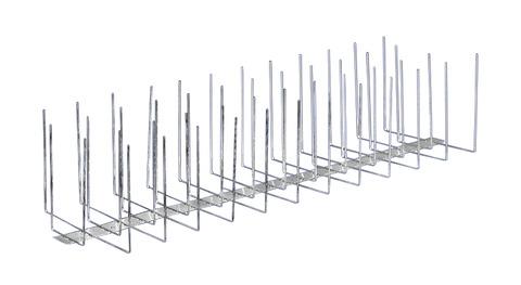 PPS Birdy-Spitzen Premium 4-fach komplett aus Stahl Edelstahl V2A