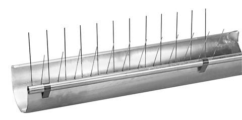 PPS Birdy-Spitzen Premium Rinne 0,500 m 100 Stück komplett aus Stahl Edelstahl DIN 1.4301