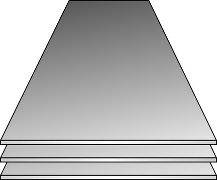 HÄU Tafel 0,80 1000x2000 gl. ALANTH